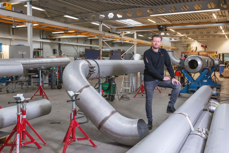 Kampen Industrial Care werkt in blinkende omgeving