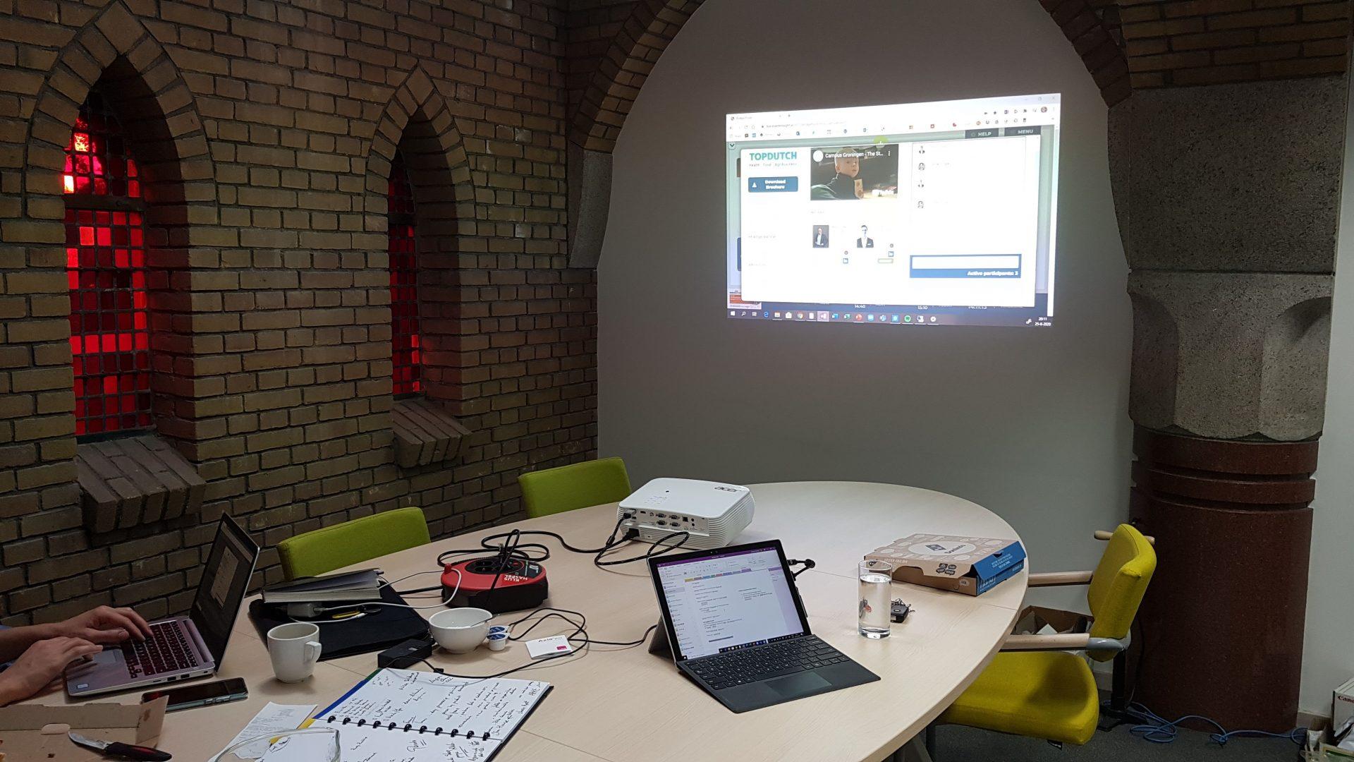 Virtuele conferentie over plantaardige eiwitten 'Ons verhaal bleek aan te slaan'