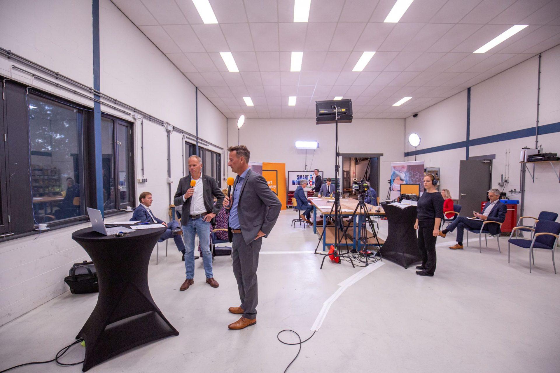 Recordbelangstelling voor de kick-off van de Smart Industry Hub Noord Nederland