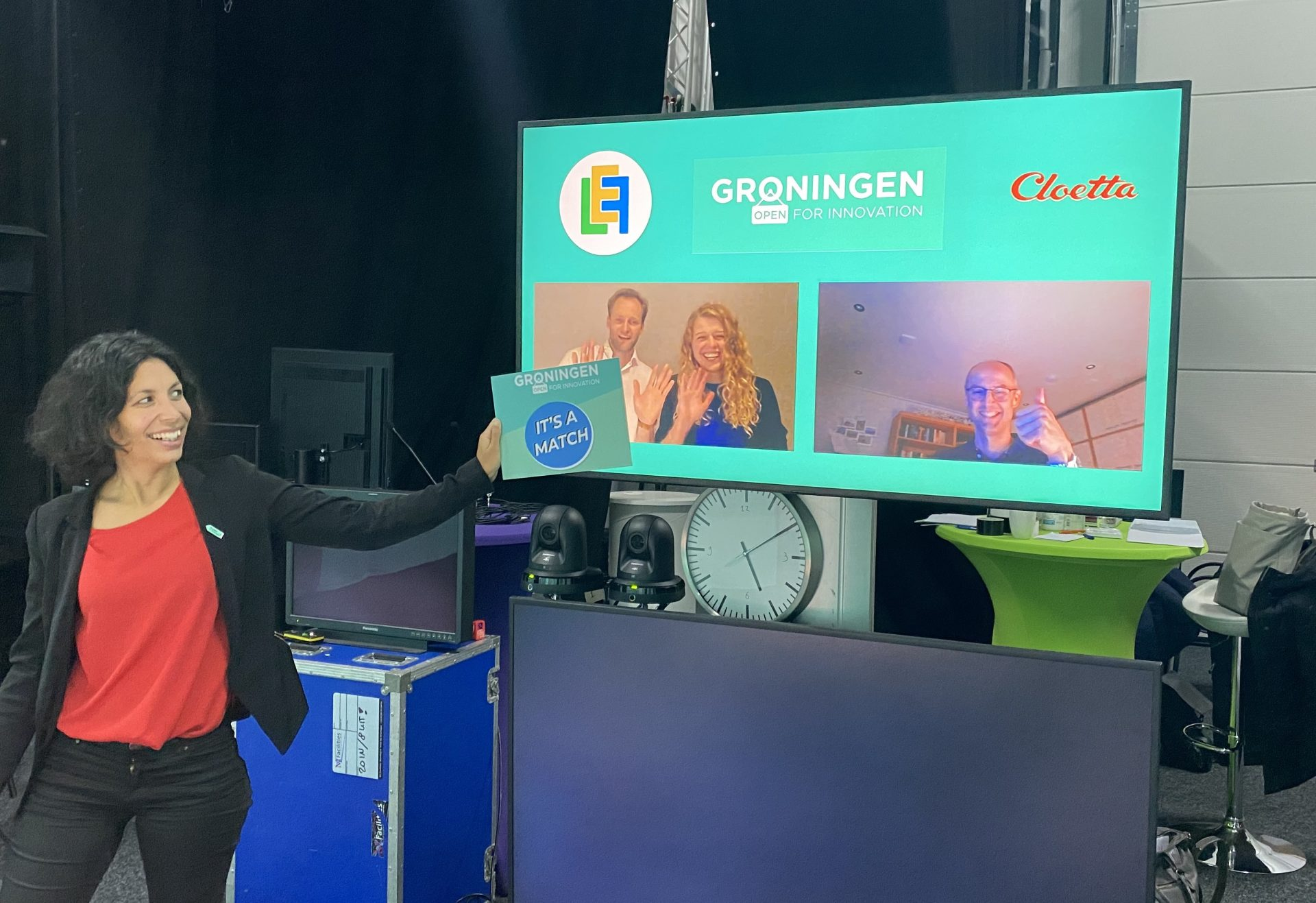 Cloetta, FC Groningen en MercachemSyncom starten samenwerking met startups
