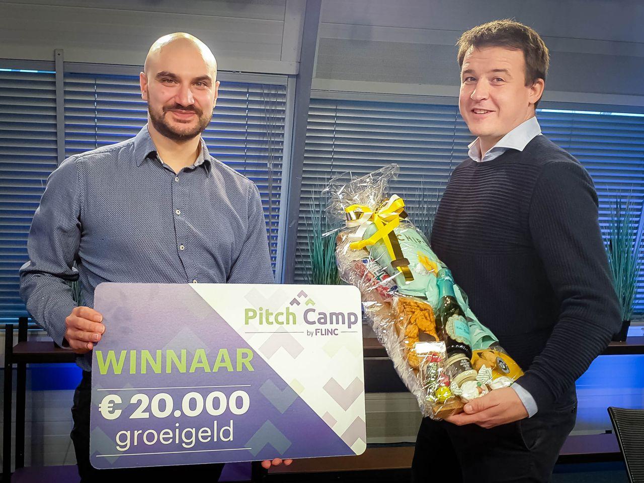 SG Papertronics wint eerste Flinc Pitch Camp