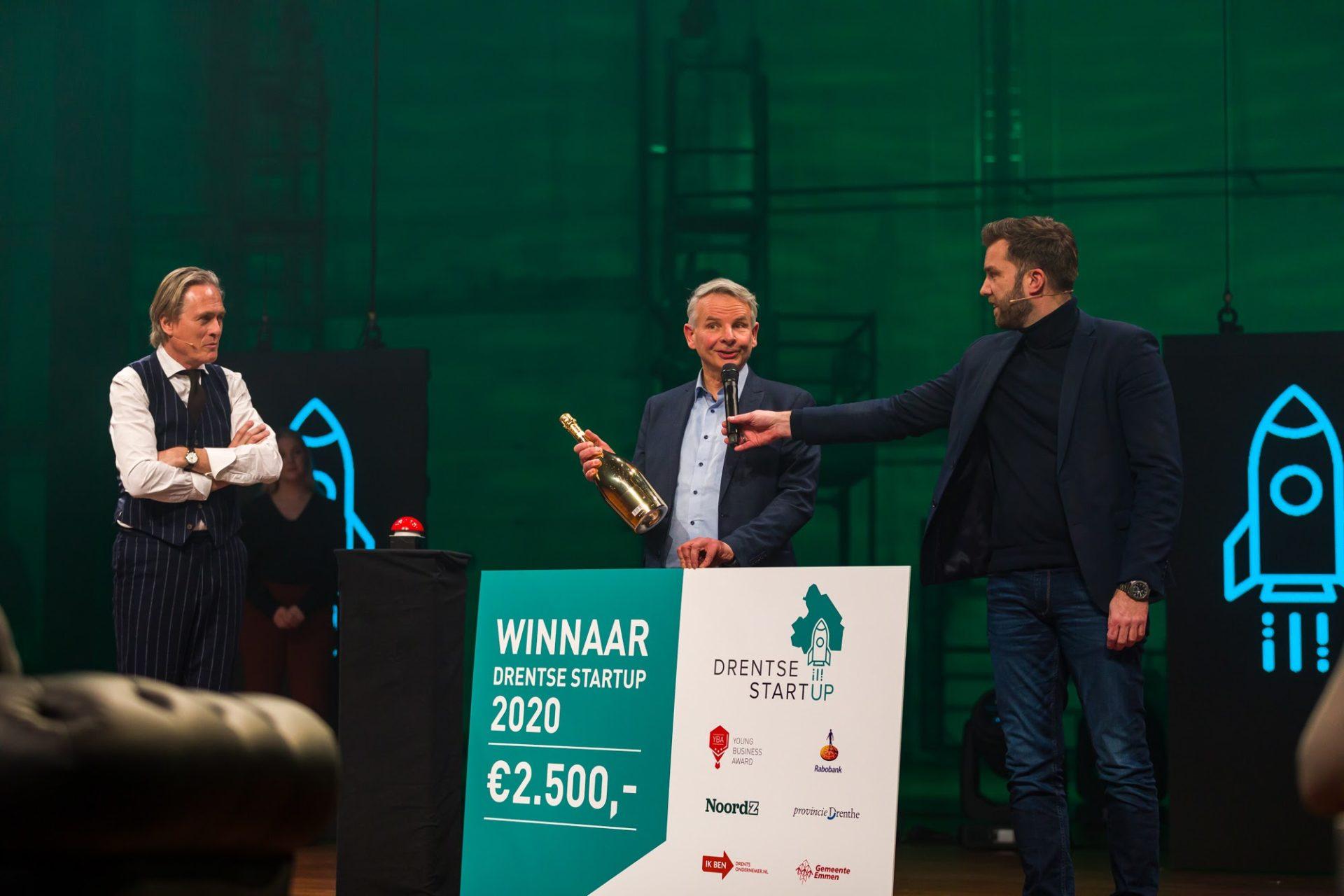 CuRe Technology winnaar Drentse Startup