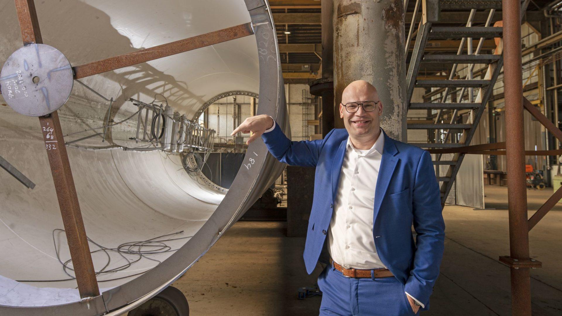 Jan Willem Stob, directeur Solidd Steel Structures 'De Smart Industry Hub heeft ons een spiegel voorgehouden'
