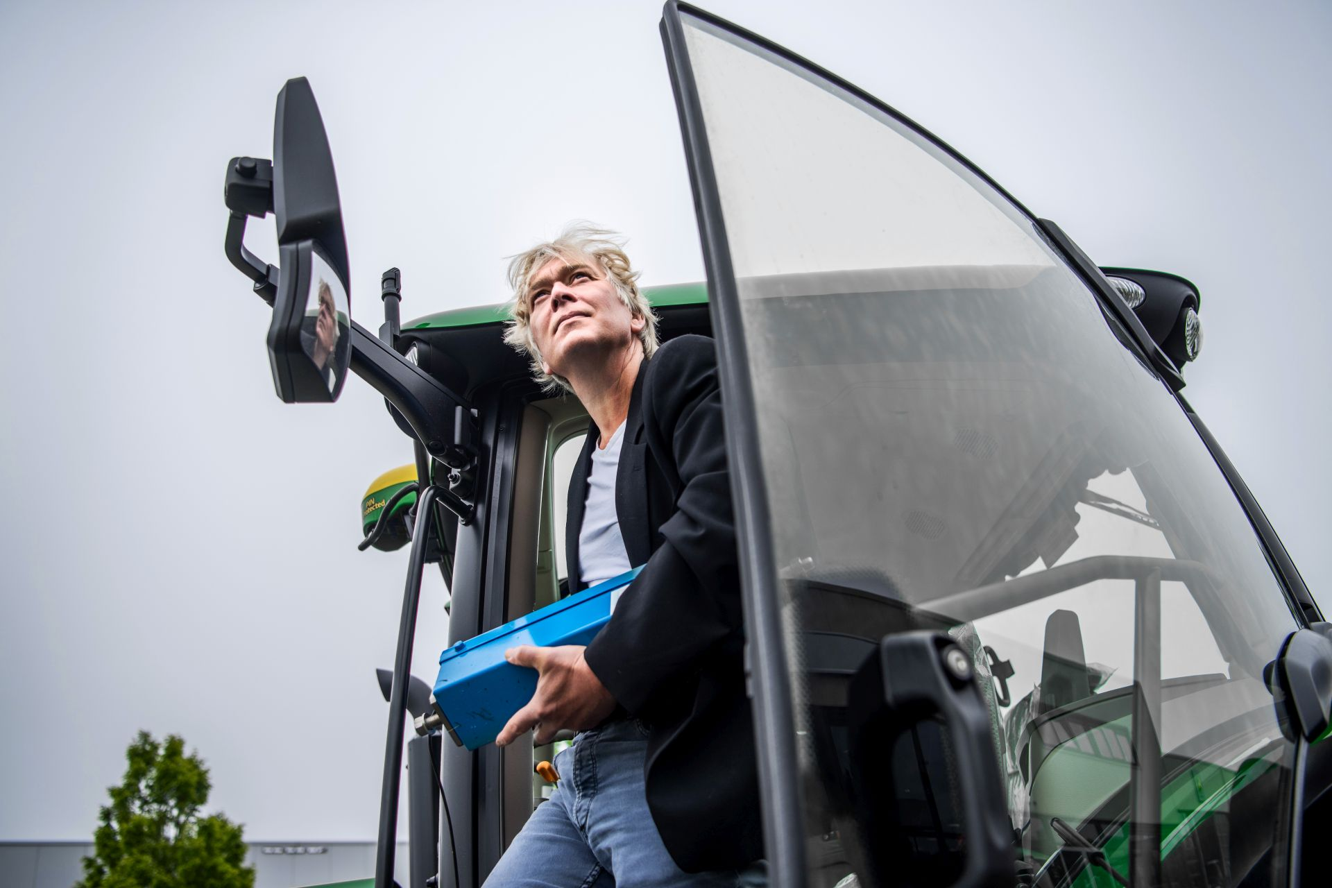 Sensorsysteem op tractor zorgt voor automatische mest- en kalkafgifte op maat